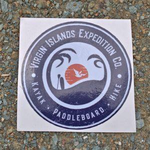 USVI Expeditions Sticker